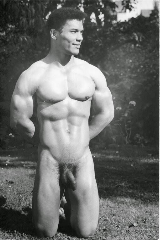 Rick Wayne Posing