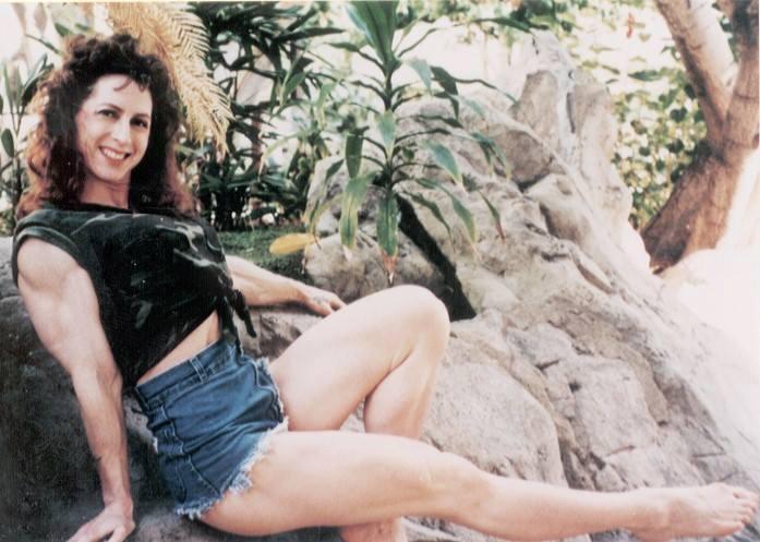 Theresa Jean Bell Posing