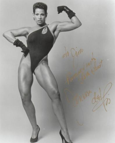 Vanessa del Rio Posing