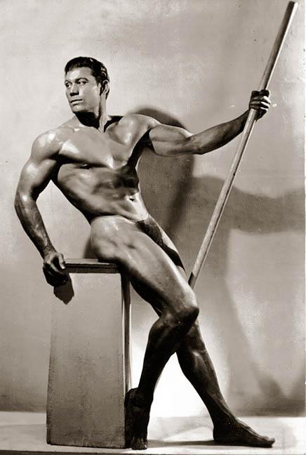 Bert Goodrich Posing part 3