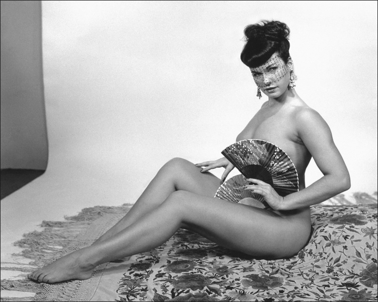 Bettie Mae Page Posing part 10