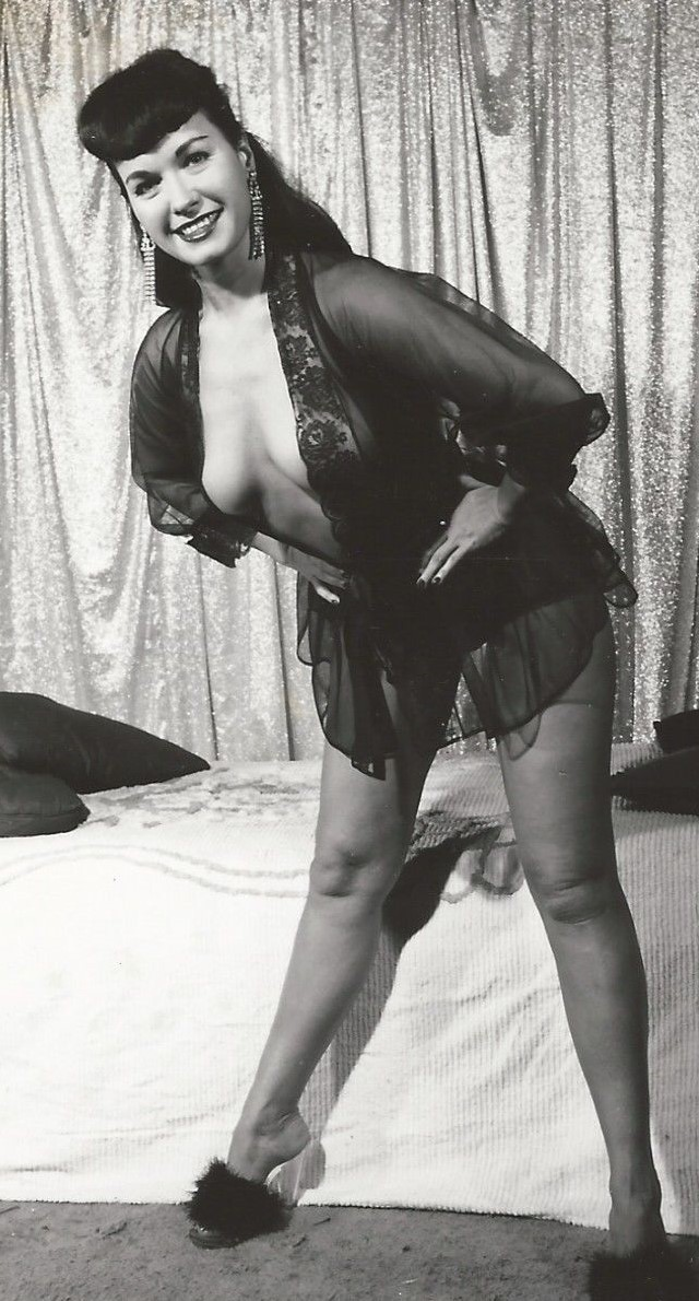 Bettie Mae Page Posing part 11