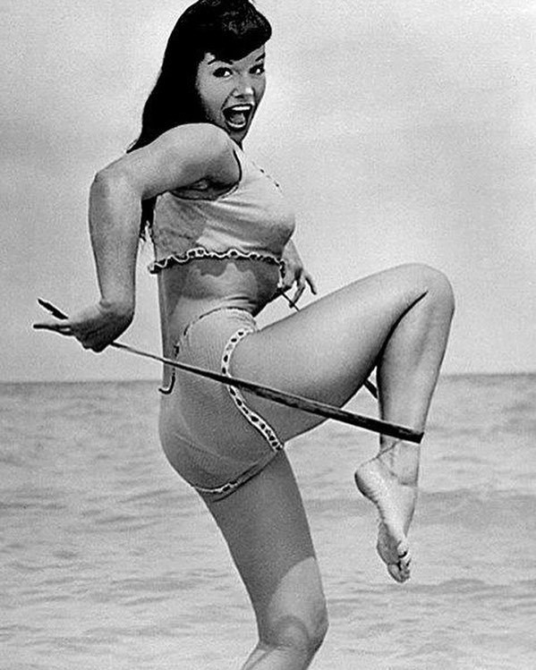 Bettie Mae Page Posing part 12
