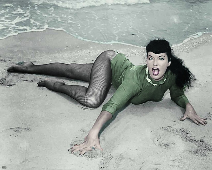 Bettie Mae Page Posing part 13