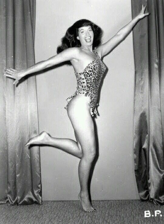 Bettie Mae Page Posing part 17