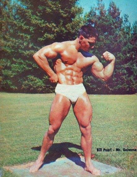 Bill Pearl Posing part 3