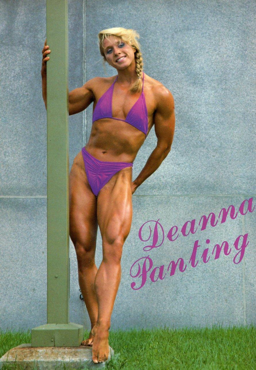 Deanna Panting Posing part 2