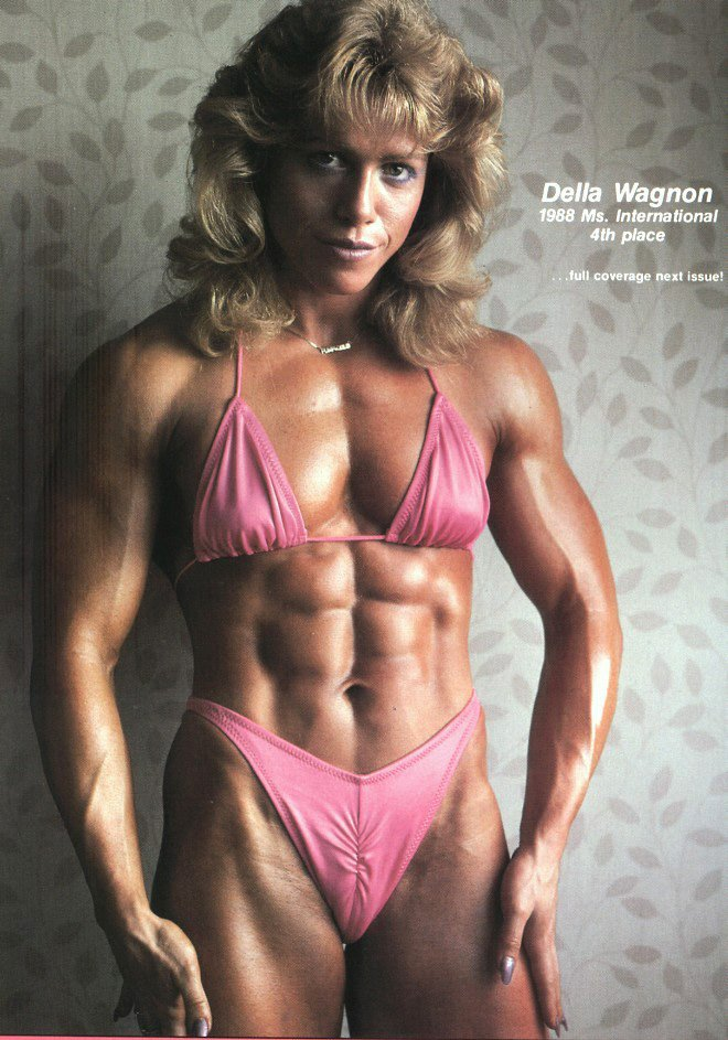 Della Wagnon Posing part 4