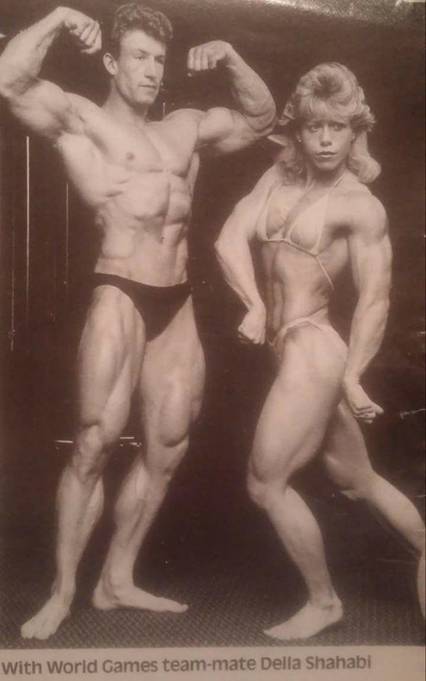 Dorian Yates and Della Wagnon Posing