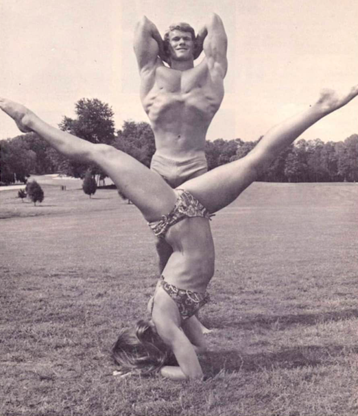 Ellington Darden and Lawanna Glass Posing