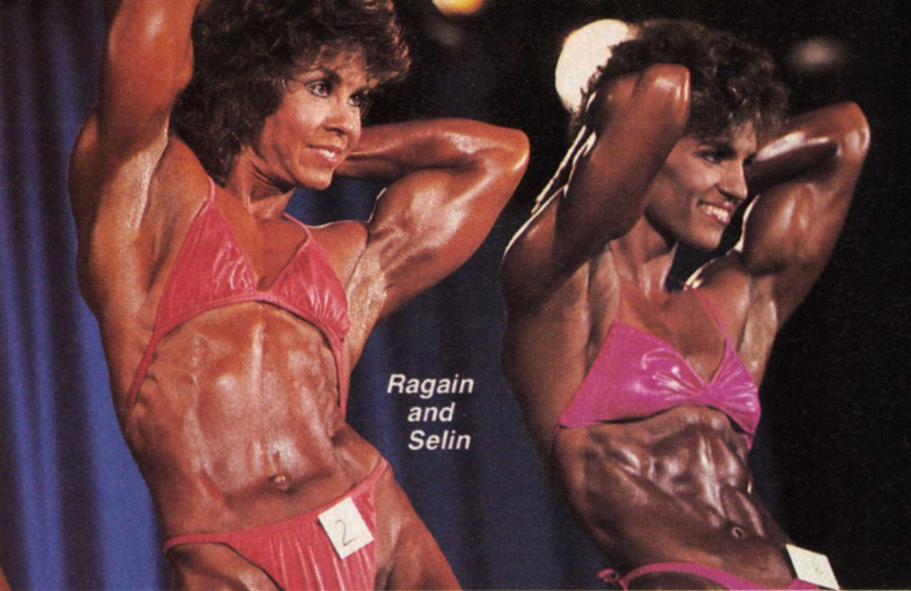 Janice Ragain and Marjo Selin Posing