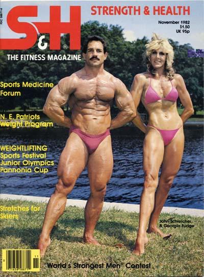 John Schlelcher and Georgia Fudge Posing