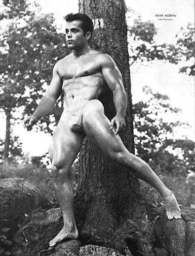 Julio Acosta Posing