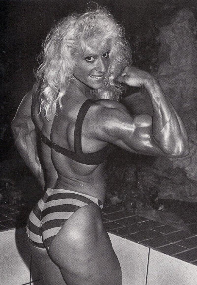 Kim Chizevsky Posing