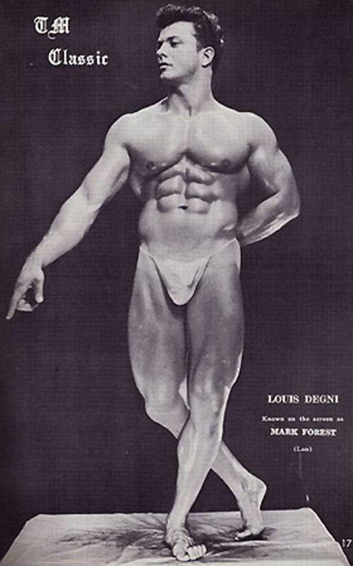 Lou Degni Posing part 3