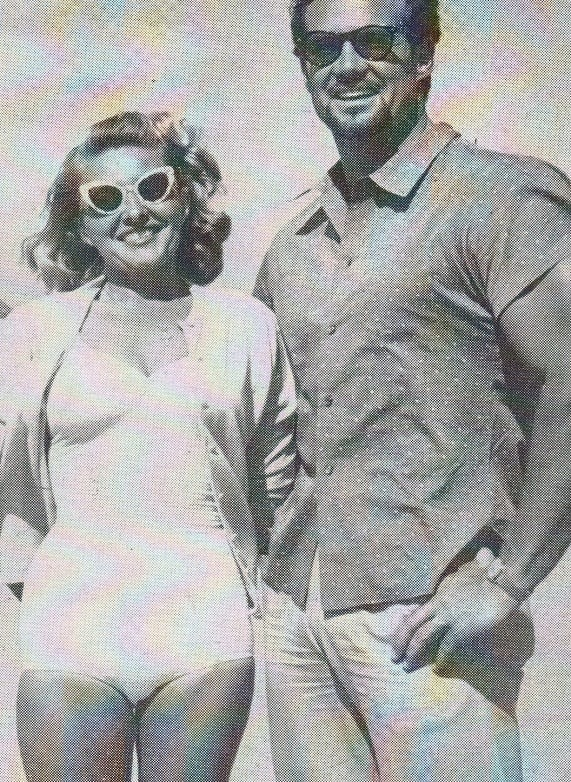 Madeline Van Emerich and Steve Reeves Posing
