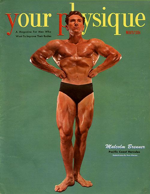 Malcolm Brenner Posing