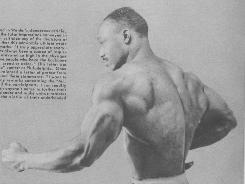 Melvin Wells Posing part 3