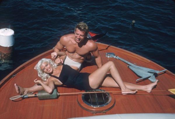 Mickey Hargitay and Jayne Mansfield Posing part 6