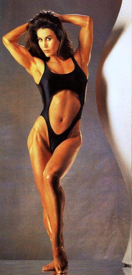 Rachel McLish Posing part 22