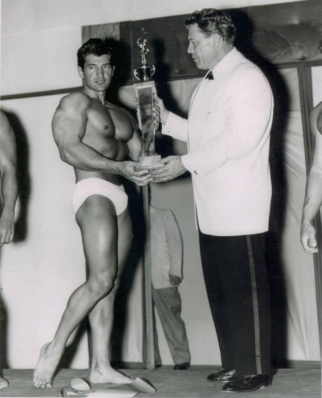 Reg Lewis and Bert Goodrich Posing