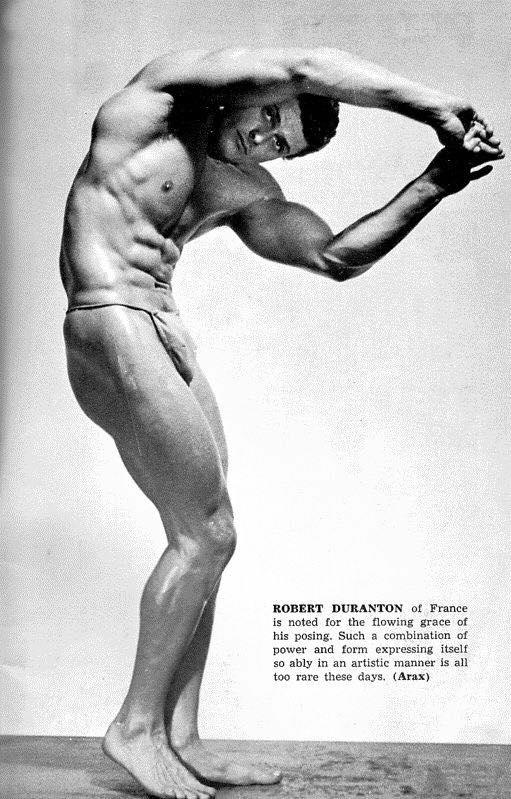 Robert Duranton Posing