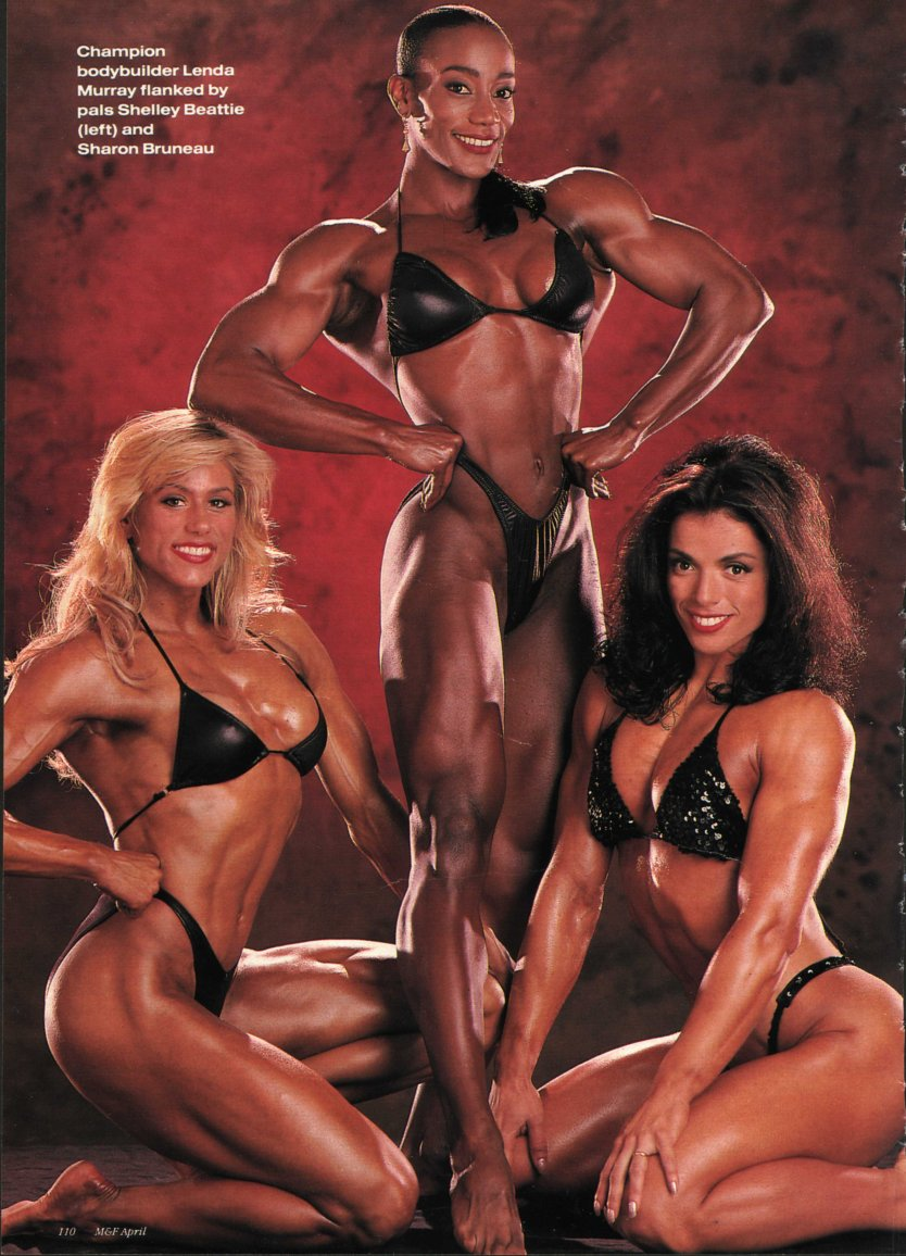 Shelley Beattie, Lenda Murray, and Sharon Bruneau Posing