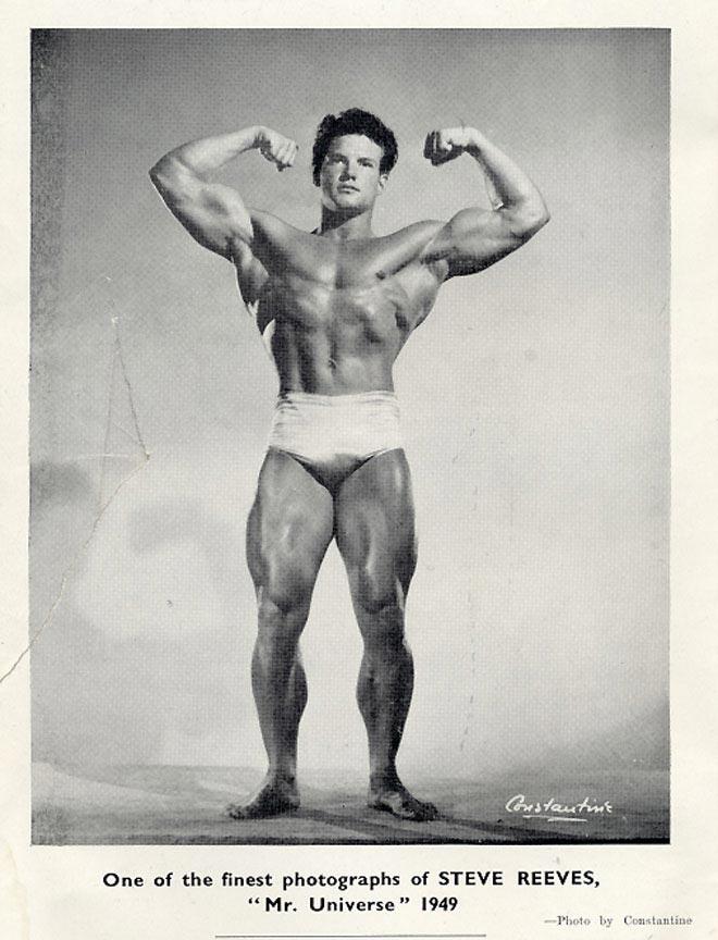 Steve Reeves Posing part 46