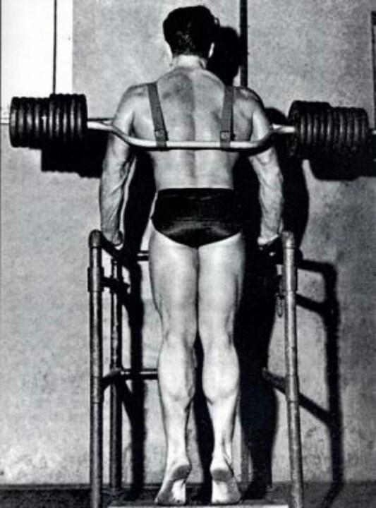 Steve Reeves Training part 3