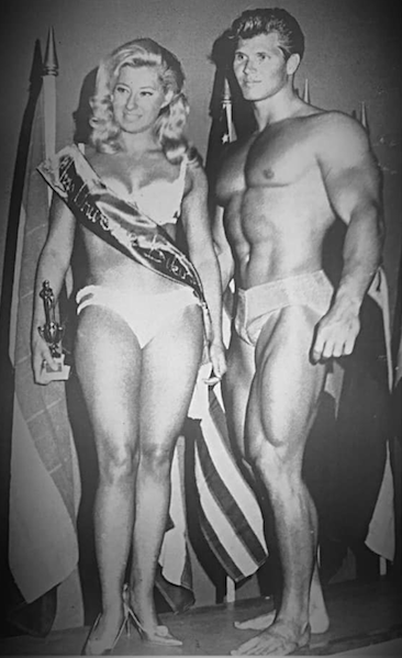 Sylvia Hibbert and Jim Haislop Posing