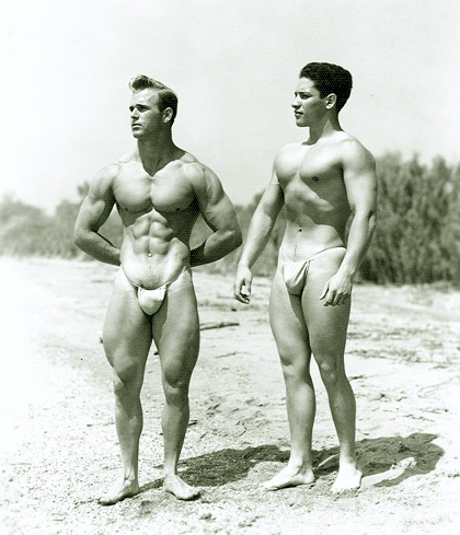 Vic Seipke and Frank Cuva Posing