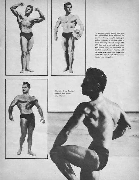 Vince Gironda Posing part 8