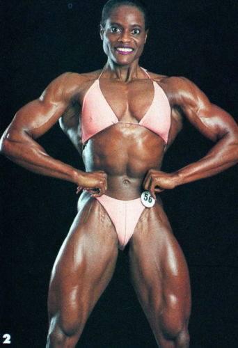 Yolanda Hughes Posing part 2